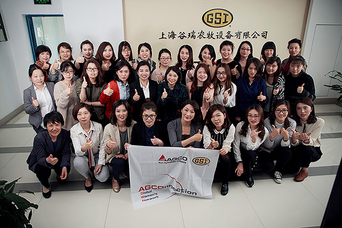 Members of the AGWN GSI China Shanghai chapter