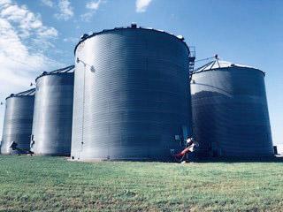 Thompson Family Farms - Crop farming in Illinois, USA.