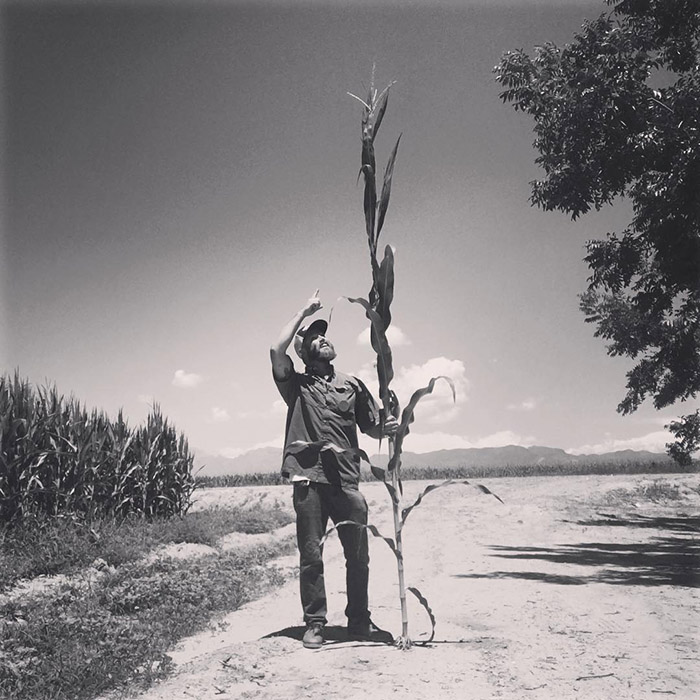 Jay Hill - Crops farmer from New Mexico, USA.