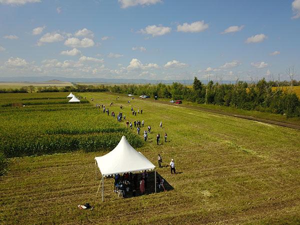 Crop Tour in Krasnaya Bashkiria