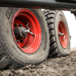 Tractor tires in the field - MyFarmLife.com